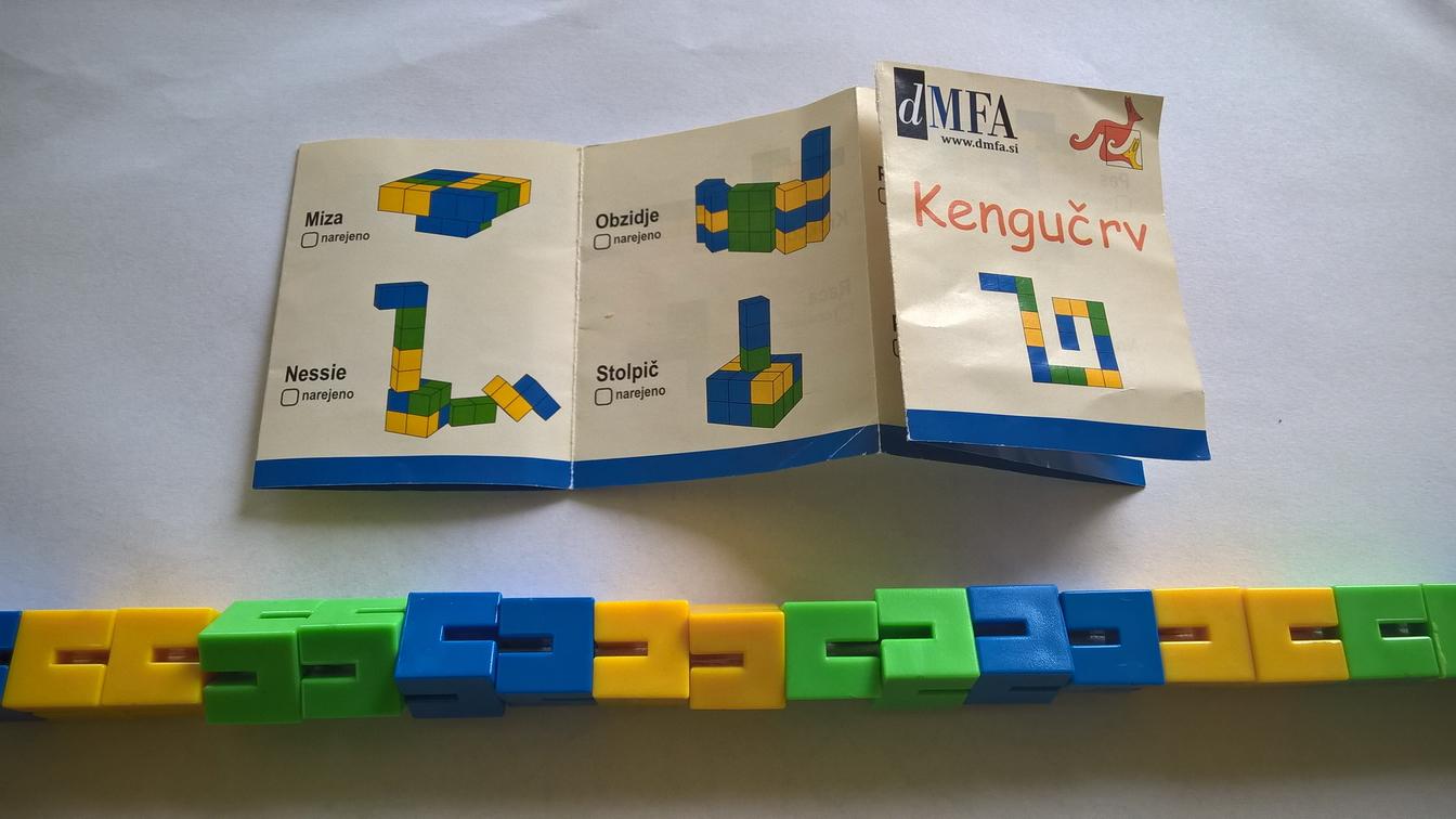 Mednarodni matematicni kenguru - Kengucrv