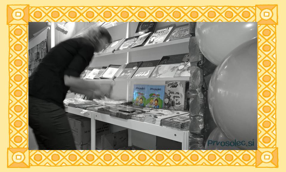 Slovenski knjižni sejem in knjiga Prvošolec - Prvosolec.si